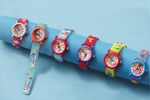 Mit den neuen Herzengel Kinderuhren  dIe Uhr lesen lernen