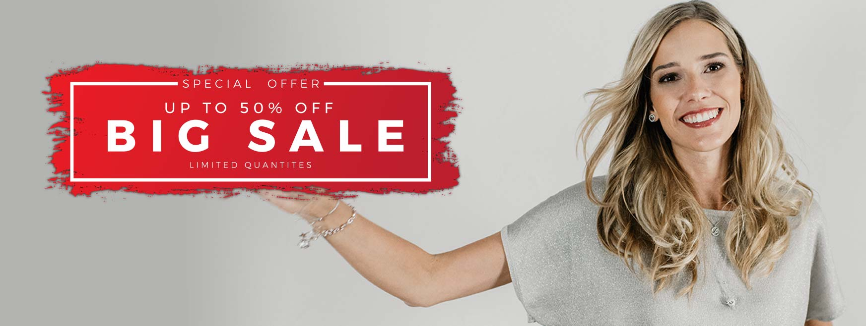 Up to 50% off - limited quantities